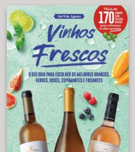 Folheto Vinhos Frescos | Lojas Grandes