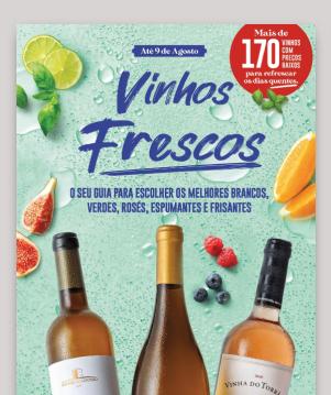 Folheto Vinhos Frescos | Lojas Pequenas