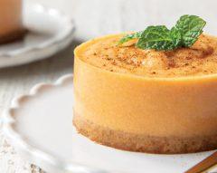 Cheesecake com dióspiro