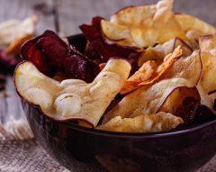 Como fazer chips saudáveis