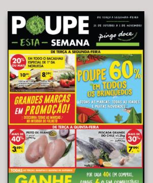 Folheto Poupe Esta Semana Médias