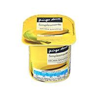 Iogurte Aroma Pingo Doce Banana 125G