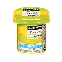 Iogurte Pedaços Pingo Doce Ananas 125G