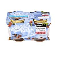 Iogurte Bat Ped Vidro Pingo Doce Oce Cereja  2X125G