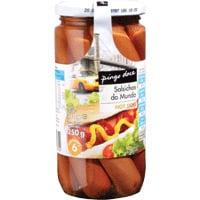 Salsichas Hot-Dog Em Frasco 250G