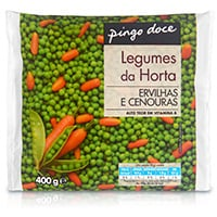 Ervilhas E Cenouras Pingo Doce 400G