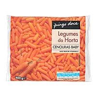 Cenoura Baby Congelada Pingo Doce 400G