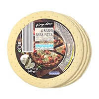 Bases Pizza Pingo Doce 4X125G