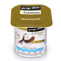 Iogurte Cremoso Pingo Doce 125G, Coco