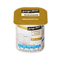 Iogurte Cremoso Pingo Doce Nat Acucarad 125G