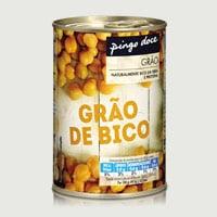 Grão Bico Pingo Doce Lata 420G