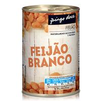 Feijão Pingo Doce Branco Lata 420G