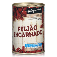 Feijão Pingo Doce Encarnado Lata 420G