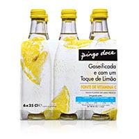 Água Com Gás Pingo Doce Limão 25Cl