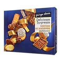 Bolachas Sortido Pingo Doce  Biscoitos 500G