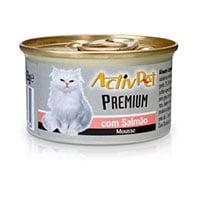 Mousse De Salmão Premium Para Gato Activpet 85G