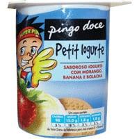 Iogurte Criança Mor/banana/bolacha Pingo Doce  125G