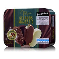 Gelados Mini Majestics Pingo Doce  8X60Ml