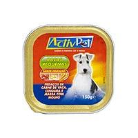 Alimento Húmido Vaca Para Cão Activpet 150G