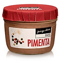 Paté Pingo Doce Pimenta Preta 125G