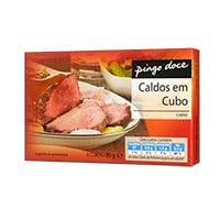 Caldo Pingo Doce Carne 8 Cubos