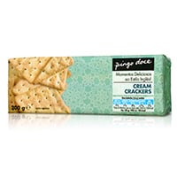Bolachas Cracker Pingo Doce  Cream Cracker 200G