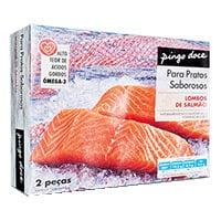 Lombo Salmão Pingo Doce 300 Uc