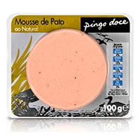 Mousse De Pato Ao Natural 100G