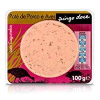 Paté De Porco E Aves Com Cogumelos 100G