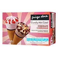 Mini Cone Pingo Doce Chocom Morang 12X28Ml