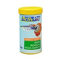 Alimento Completo Peixes Tropicais Água Quente Activpet 40G