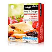 Bolachas Esp Fin Pingo Doce  Frut Energ Mor 182G