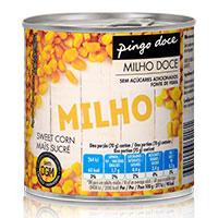 Milho Doce em Conserva Pingo Doce 300g
