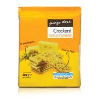 Bolachas Cracker Pingo Doce  Com Sal Sup 500G