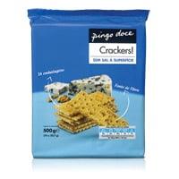 Bolachas Cracker Pingo Doce  Sem Sal Sup 500G