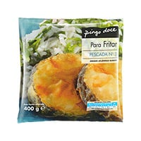 Postas Pescada Nº3 Para Fritar Pingo Doce  400G