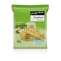 Bolachas Cracker Pingo Doce  Integral 500G