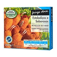 Petiscos Do Mar Pingo Doce 250G