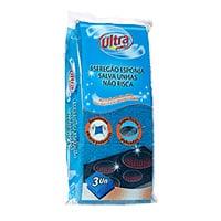 Esf Salva Unhas Fibra Azul Ultra Pro 3Un