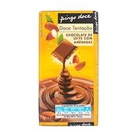 Chocolate De Leite Com Amêndoas Caramelizadas E Sal 100G