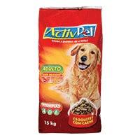 Alimento Seco Croquetes De Carne Para Cão Activpet 15Kg