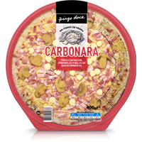 Pizza Carbonara 400G