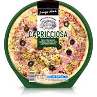 Pizza Queijo, Fiambre, Cogumelos E Azeitonas 415G