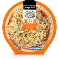 Pizza Quatro Queijos 390G
