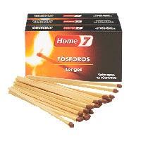 Fosforos Longos 22B Home7 Pack3