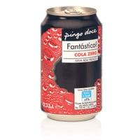 Cola Zero Pingo Doce Lata 33Cl