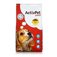 Alimento Seco Para Cão Júnior Activpet 2Kg