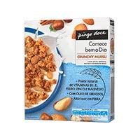Cereais Crunchy Muesli Pingo Doce 500G