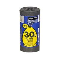 Saco De Lixo Fecho Fácil 30L 20 Unidades