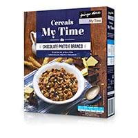 Cereais My Time-Chocolate Preto E Branco Pingo Doce 500G